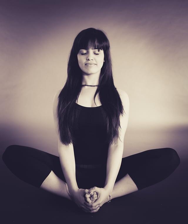 best meditation pose