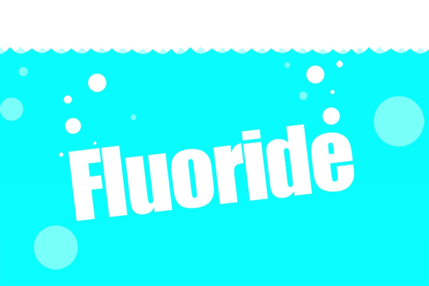 Bottled water without fluoride