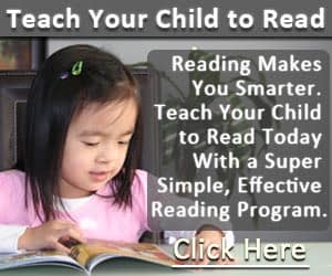 teaching your child to read